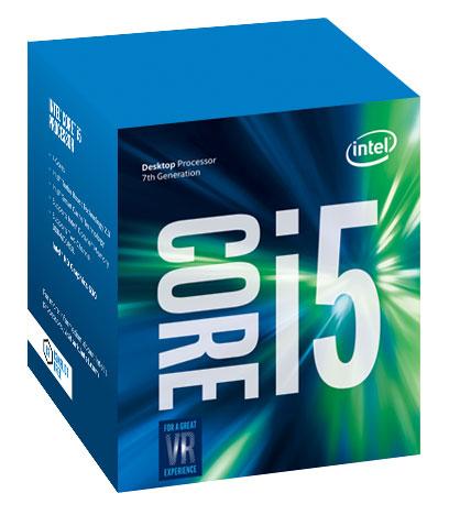 Intel Core i5-7400 3.50GHz 6MB LGA1151 Kaby Lake HD graphics 630 14nm