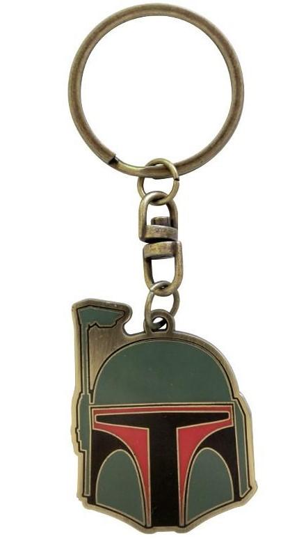 STAR WARS - Metal Keychain Boba Fett