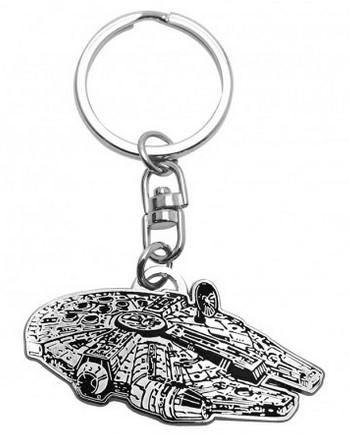 STAR WARS - Metal Keychain Millennium Falcon
