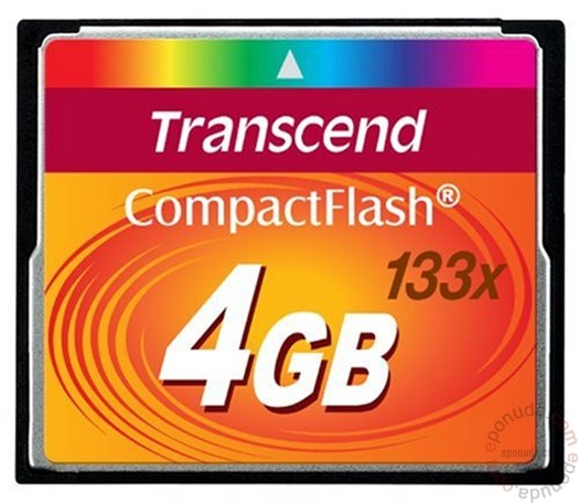 TRANSCEND 4GB TS4GCF133