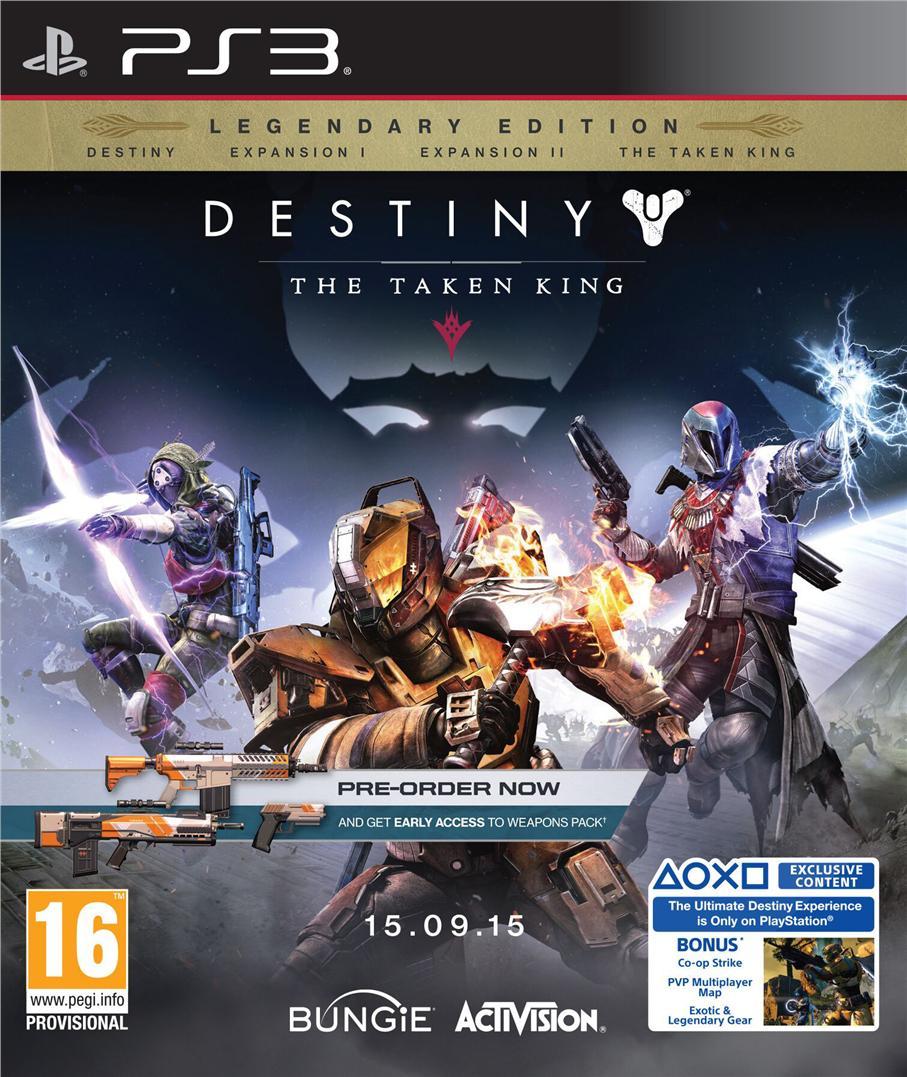 PS3 Destiny The Taken King Legendary Edition