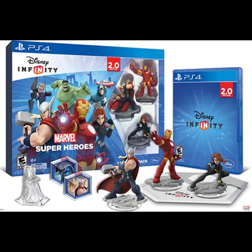 Disney Interactive WiiU Infinity Starter Pack + 2 Power Discs