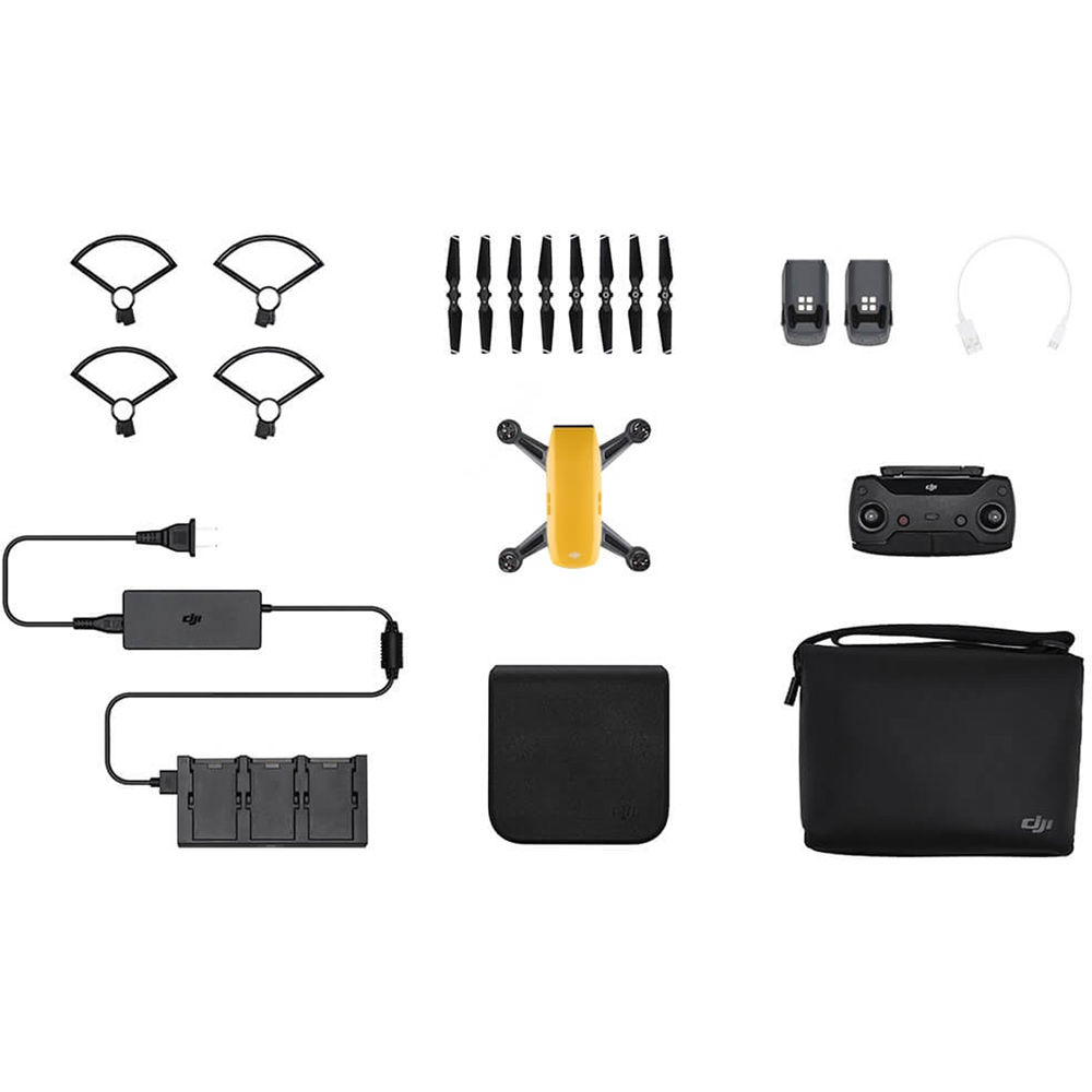 Dji SPARK Fly More Combo, Sunrise Yellow