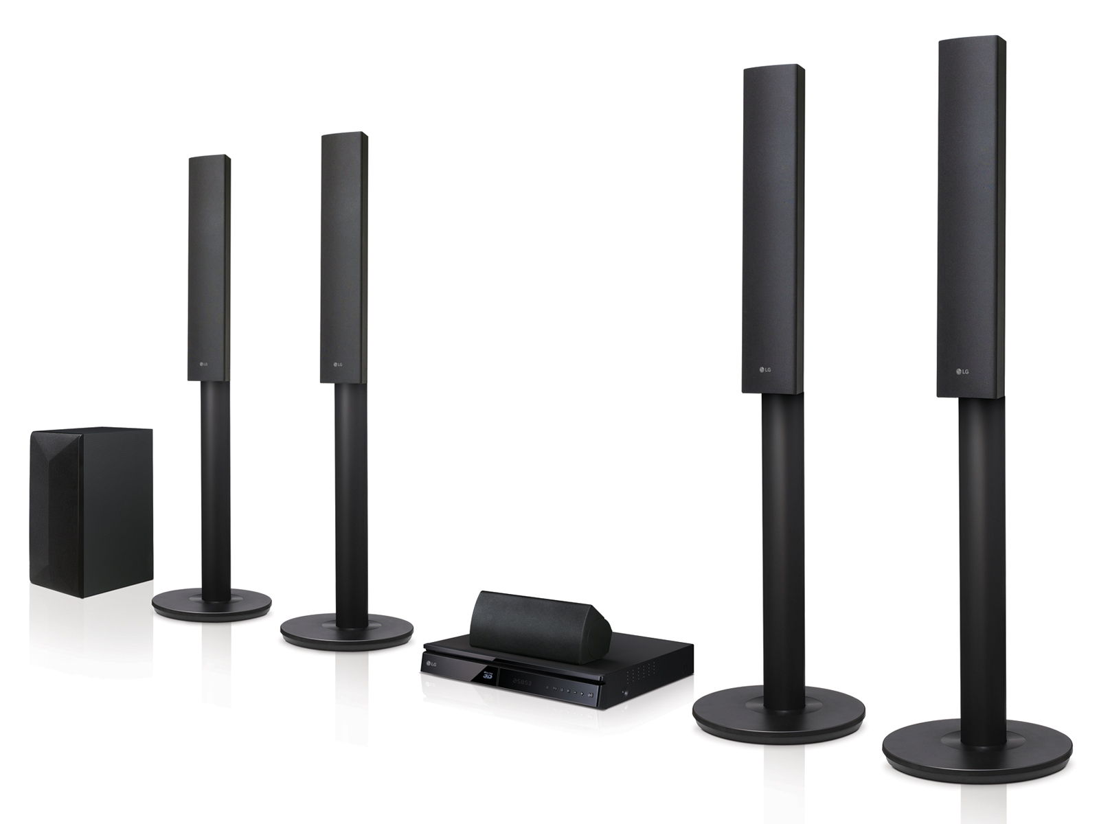LG (LHB655) BluRay Home Theater