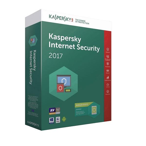 Anti-virus Kaspersky Int.Security 3u 1g