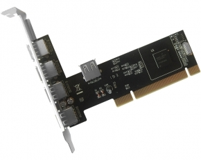 PCI kontroler 4xUSB 2.0