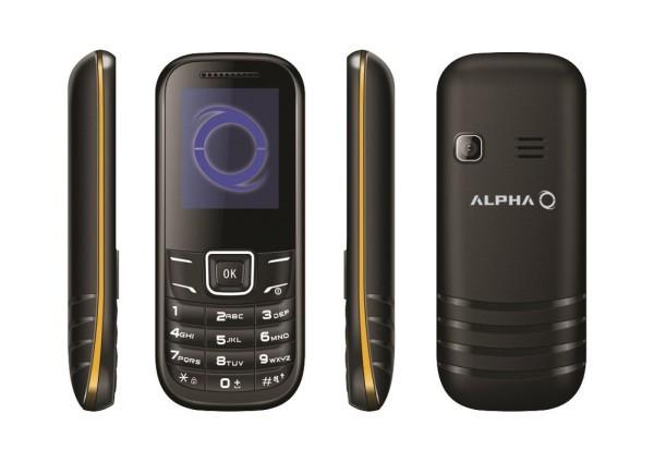Alpha D1 Zuta DS Mobilni Telefon