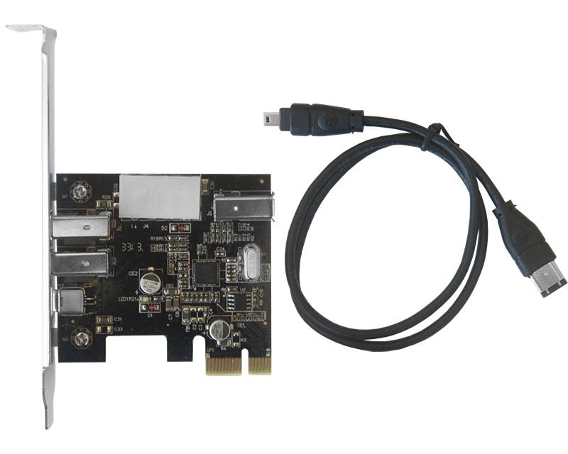 PCI Express kontroler 3xFireWire (IEEE 1394)