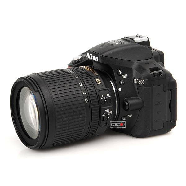 Nikon D5300 Black + 18-105 VR