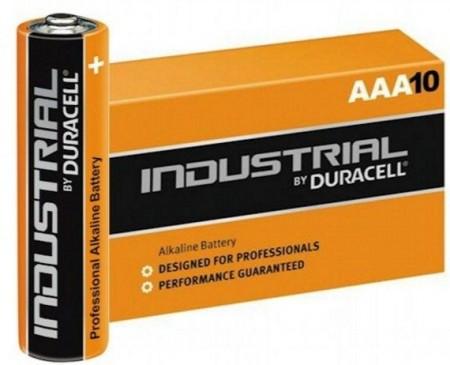 x-Duracell Industrial AAA 1.5V LR03 MN2400, PAK10 CK, ALKALNE baterije