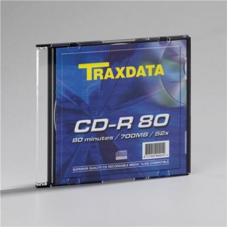 Traxdata CD-R SLIM BOX 1 kom