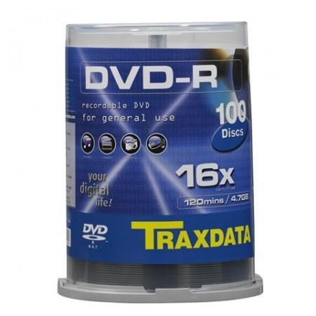 Traxdata DVD-R CAKE 100 kom. 4.7 GB