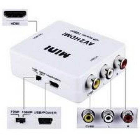 Linkom Adapter HDMI na AV 1080P