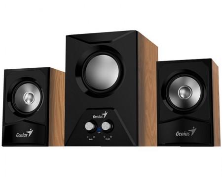 GENIUS SW-2.1 385 2.1 Wood braon zvučnici
