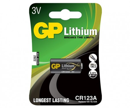 GP CR123A Photo Lithium