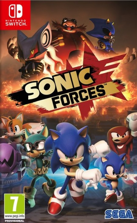 Sega Switch Sonic Forces Day One Edition