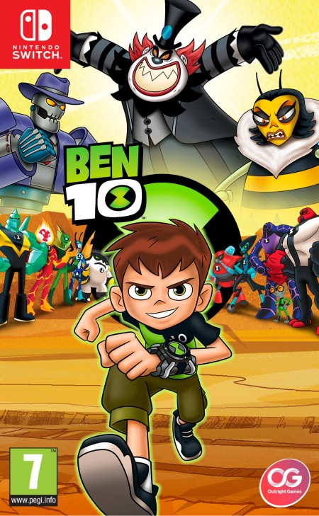 Outright games Switch Ben 10