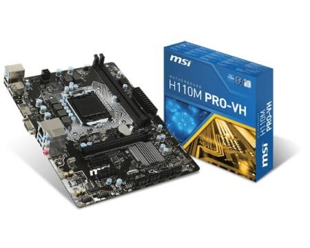 1151 MSI H110M PRO-VH