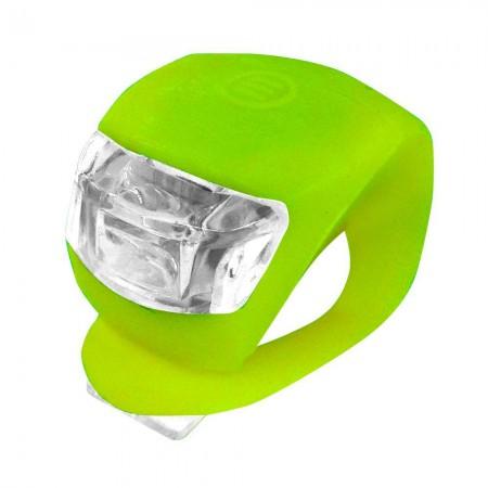 Prednja 2 LED bljeskalica Xplorer zelena (6231)