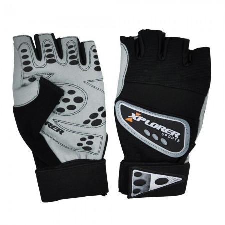 Fitnes rukavice Xplorer print (6649)