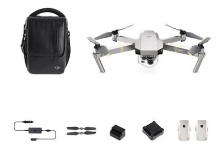 DJI DRON MAVIC Pro Fly More Combo Platinum CP.PT.00000065.01