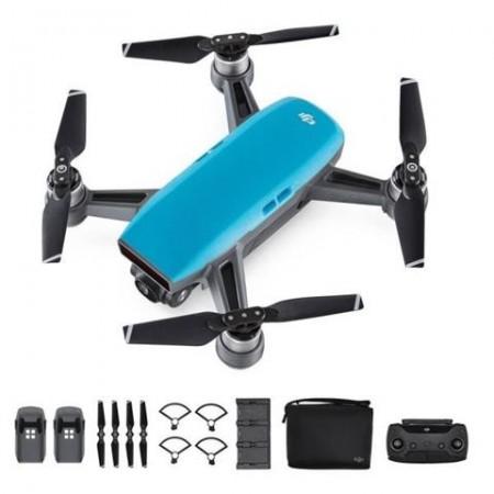 DRON DJI SPARK Fly More Combo, Sky Blue