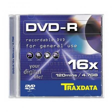 DVD-R BOX 1, DVD-R, Kapacitet  4,7 GB, Brzina 16x, 1 komad box, Silver