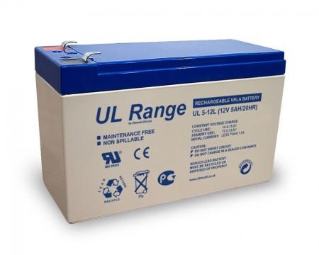 Ultracell UL7.5-12 Battery 12V / 7.5Ah, UPS
