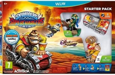Wii Skylanders Superchargers Starter Pack