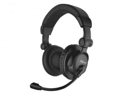 Trust Como headset crni