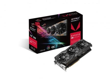 ASUS AMD Radeon RX VEGA 8GB 2048bit STRIX-RXVEGA64-O8G-GAMING