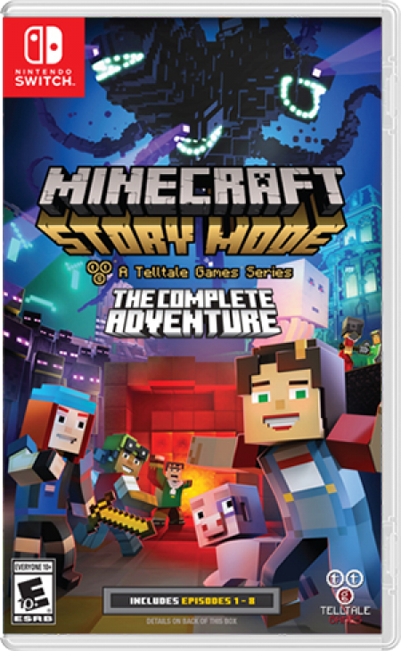 Telltale Games Switch Minecraft Story Mode: The Complete Adventure