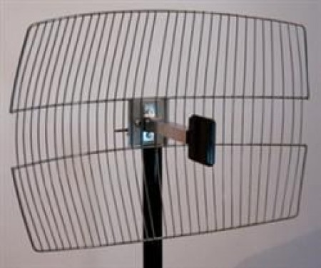 Reink Jet Antena Grid 2.4GHz 20dBi RPSMA sa koaksijalnim kablom 15m