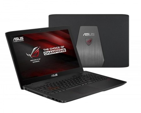 ASUS ROG GL552VW-CN286T 15.6 FHD Intel Core i7-6700HQ 2.6GHz (3.5GHz) 16GB 256GB 1TB GeForce GTX 960M 2GB ODD Win10