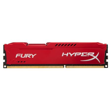 Kingston 8GB DIMM DDR3 1866MHz HX318C10FR/8 HyperX Fury Red
