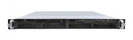Server INTEL R1304RPSSFBN (Rack 1U,1xXeon E3-1200v3, 4xDDR3 UDIMM 1600,4x3.5 Fixed HDD, RAID RST(0,1,10,5),2xGLAN, 350W fixed PSU) (R1304RP
