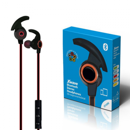 Xwave MX85 orange BT stereo slusalice sa mikrofonom v4.2, Baterija 80mAh, 5sati razgovor, 10m udaljenost, Narandzasta