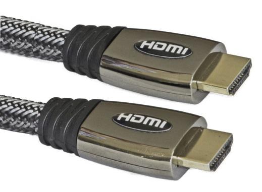 Xwave HDMI kabl, metal shell, 10m,