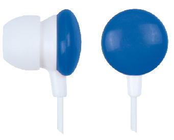 GEMBIRD MHP-EP-001-B Candy In-ear earphones, blue