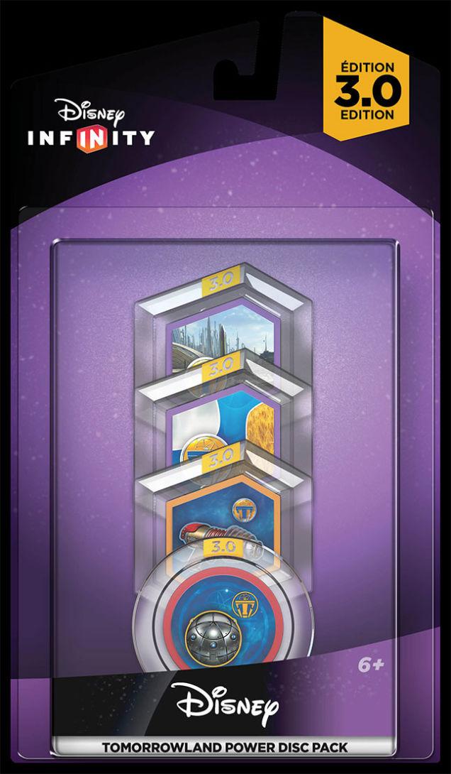 Infinity 3.0 Power Discs Disney Tomorrowland