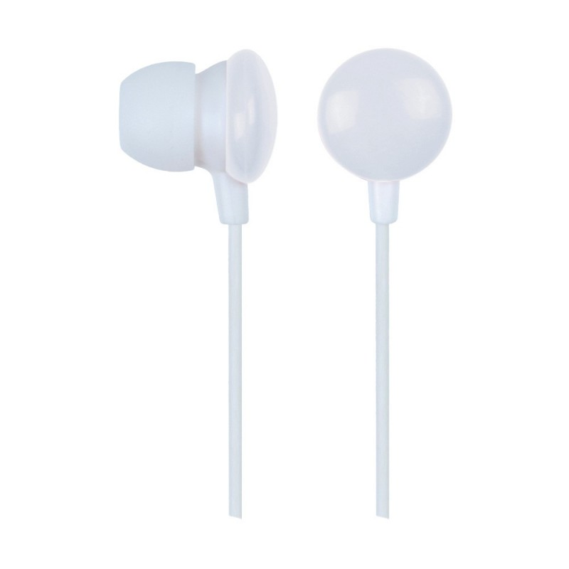 Gembird MHP-EP-001-W Candy In-ear earphones, white
