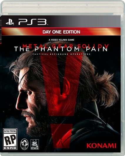 PS3 Metal Gear Solid V The Phantom Pain Day1