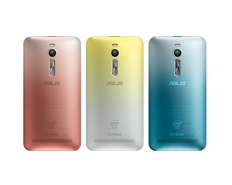 ASUS Zen Case Fusion maska za ZenFone 2 (ZE551ML) mobilni telefon žuta