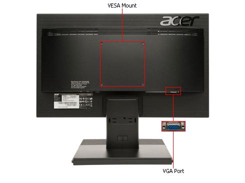 Acer 18.5 V196HQLAb LED