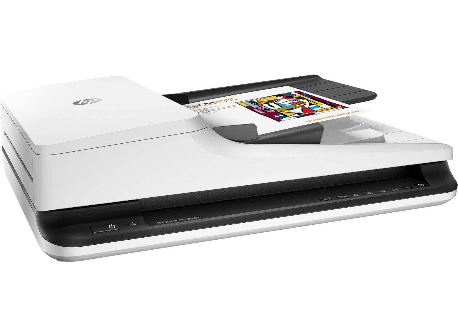 HP ScanJet Pro 2500 f1 Flatbed Scanner L2747A