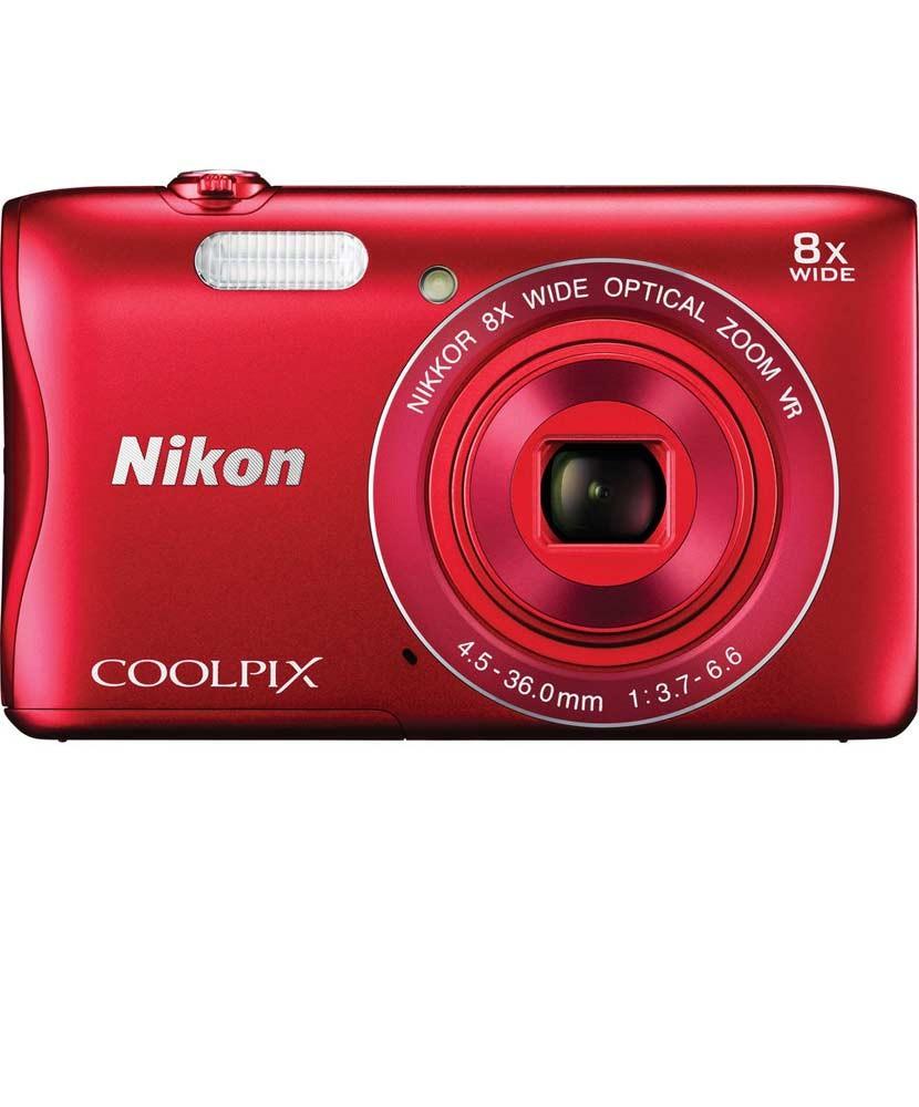NIKON COOLPIX S3700 Crveni