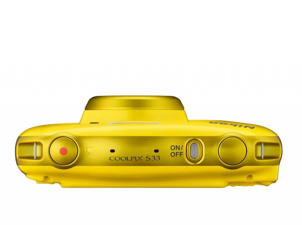 NIKON COOLPIX S33 Žuti