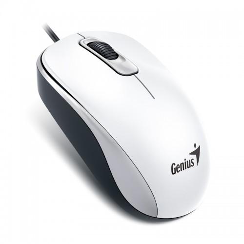 GENIUS DX-110 USB Optical beli miš