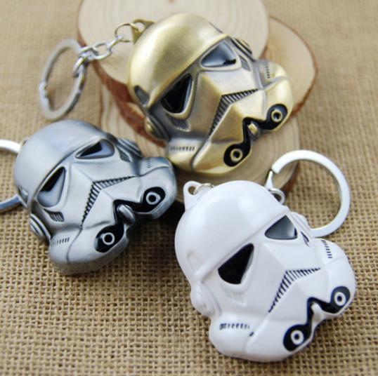 STAR WARS - Metal Keychain Trooper