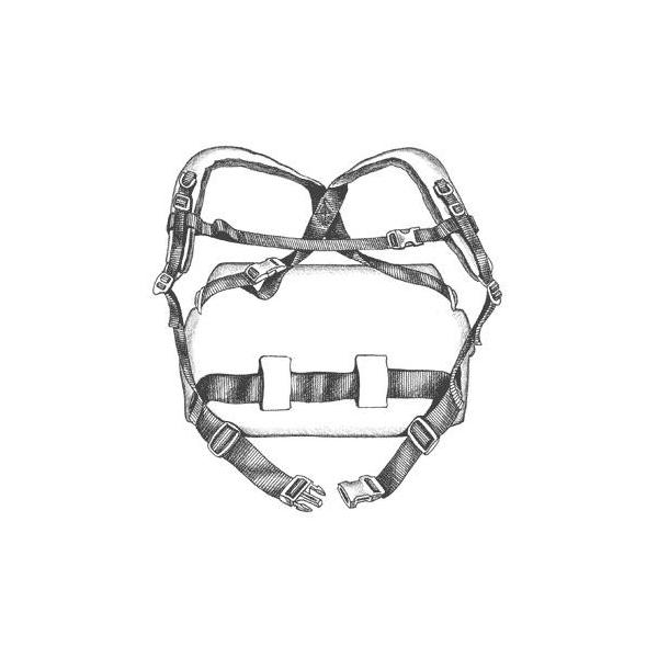LowePro Backpack Harness (crna)